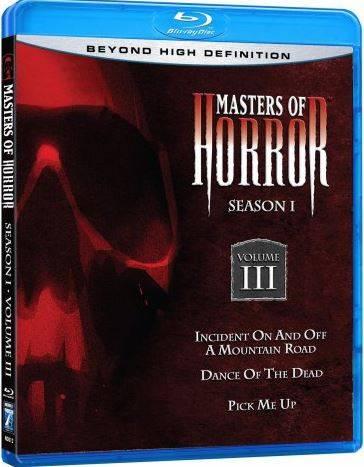 Masters of Horror Vol II - IV - 4 x US Bluray - Neu & OVP