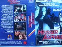 Heisser Asphalt ... Lou Diamond Phillips ... VHS ... FSK 18