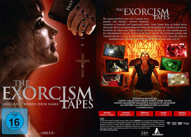 The Exorcism Tapes - Geheiligt werde dein Name (uncut, DVD)