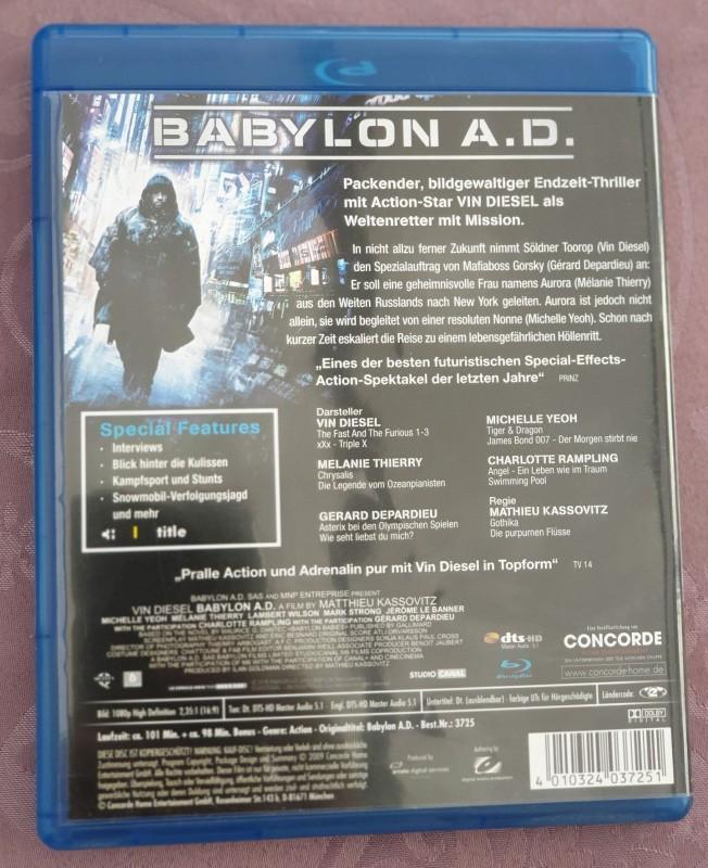 Babylon A.D. - Ungeschnittene Fassung