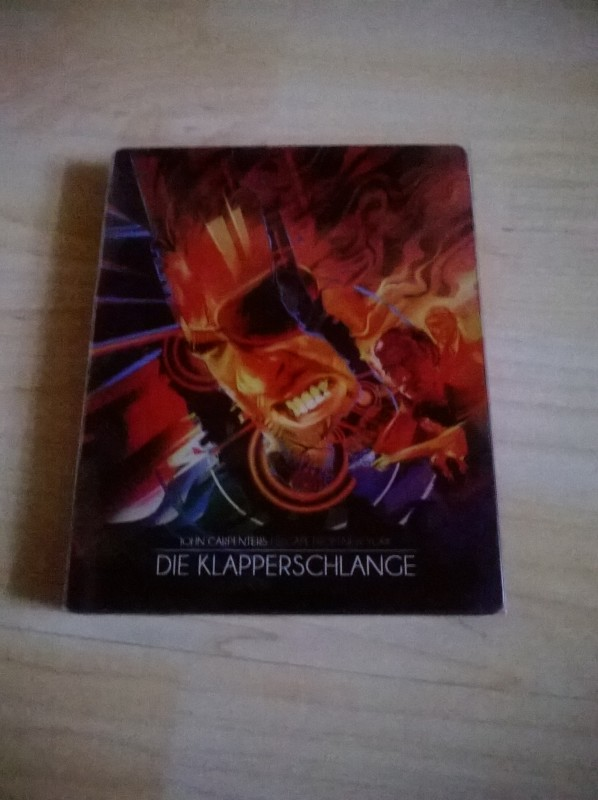 Die Klapperschlange - Limited Steelbook Edition-Blu-ray