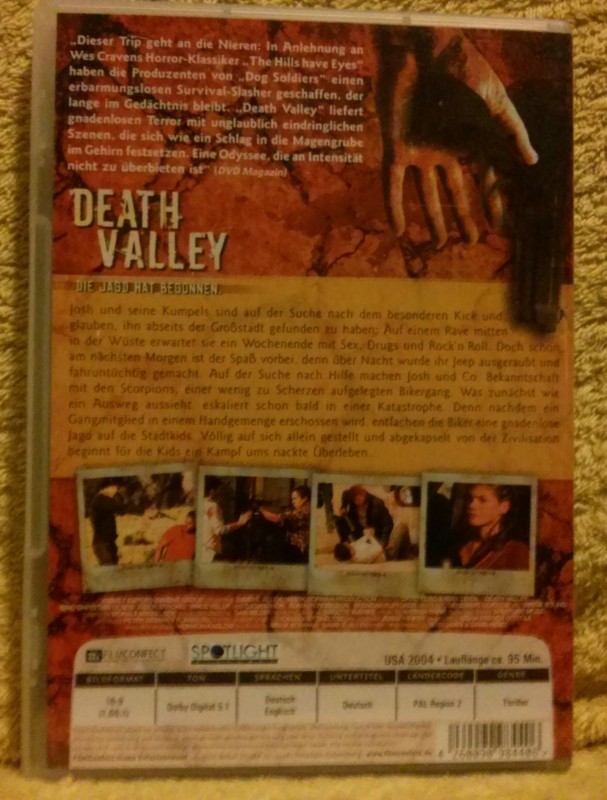 Death Valley Die Jagd hat begonnen DVD (D)