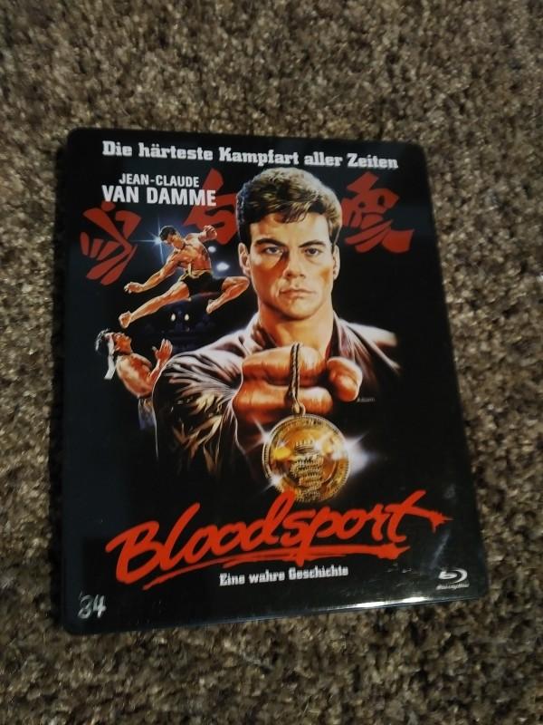 BLOODSPORT      (Metalpack, Blu-ray)