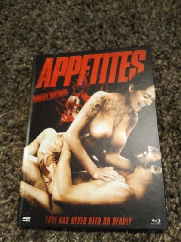 Appetites   ( Blu-ray/DVD )  Mediabook A Lim 1000