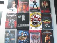 Sammlung - 12x ACTION DVDs  Killerbus Gr. Hartbox, RoadHouse