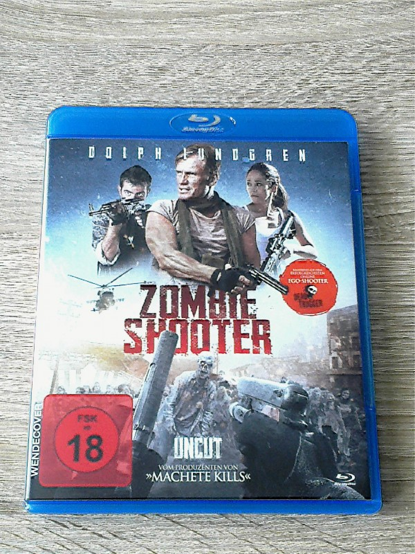 ZOMBIE SHOOTER(WIE RESIDENT EVIL)BLURAY UNCUT