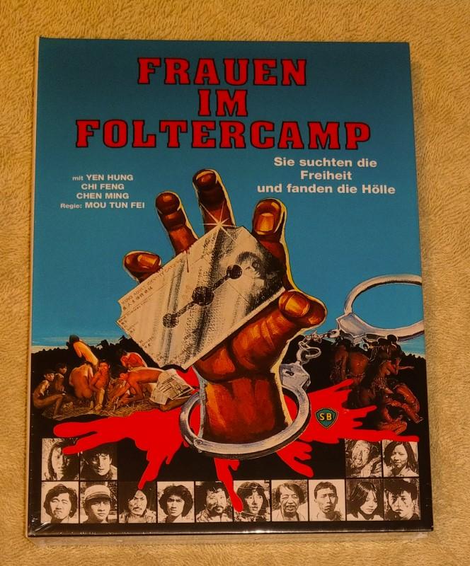 Frauen im Foltercamp  Limited Mediab. Edit  Blu Ray NEU/ OVP