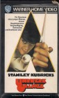 VHS Stanley Kubricks Uhrwerk Orange Clockwork