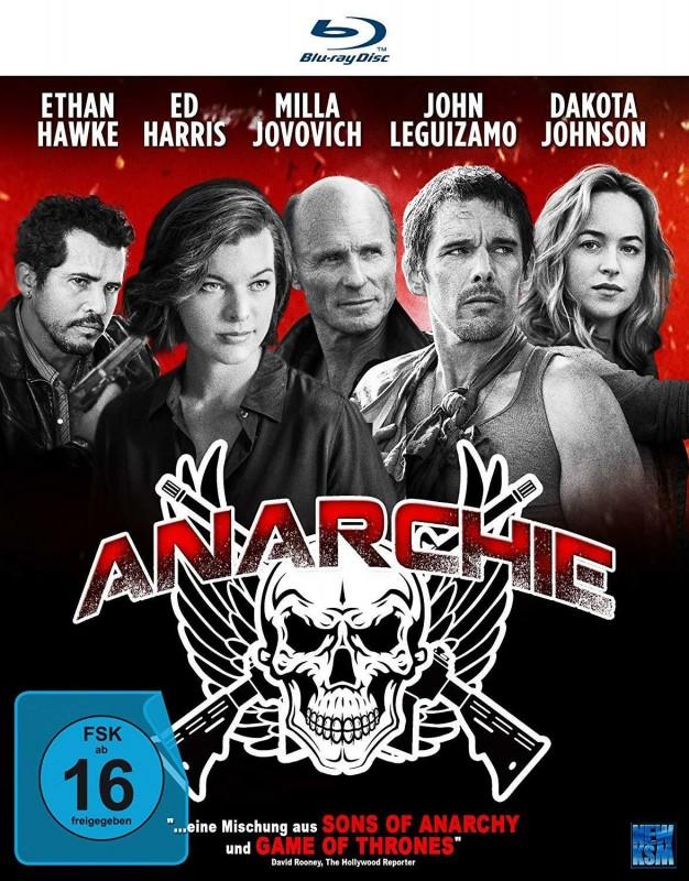 Anarchie (2015) Blu-Ray im Pappschuber Neu und OVP