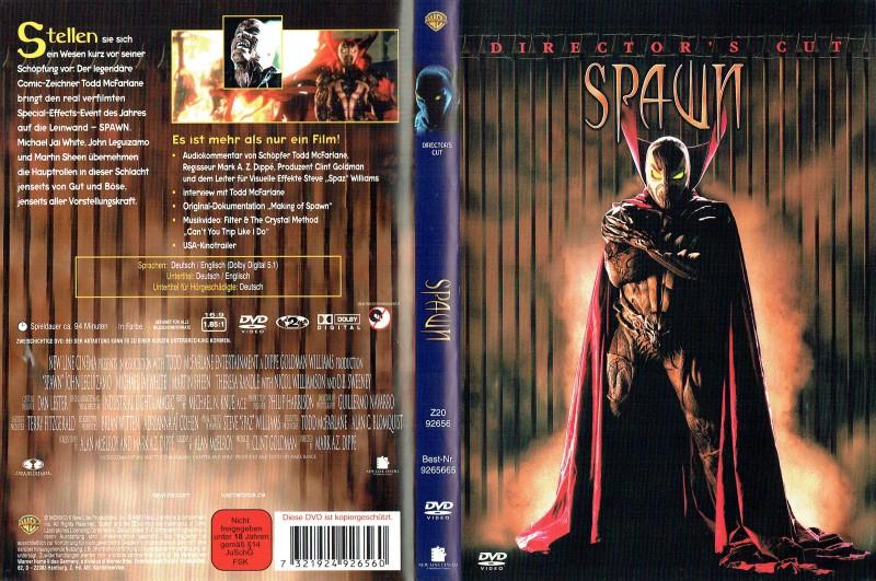 (DVD) Spawn (Director's Cut)  1997
