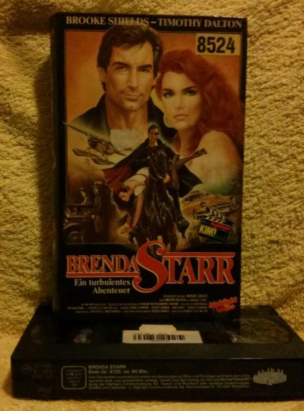Brenda Starr Brooke Shields/Timothy Dalton VHS selten