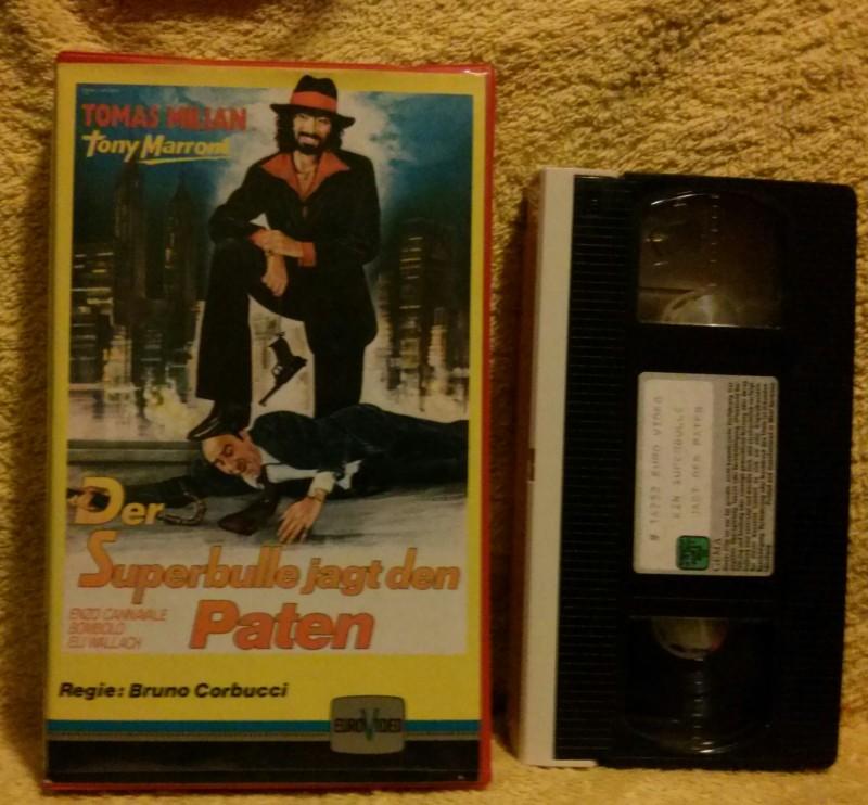 Der Superbulle jagt den Paten VHS Thomas Milan (E38)