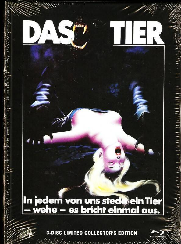Das Tier Mediabook B 111/666 Limited Edit. The Howling Uncut