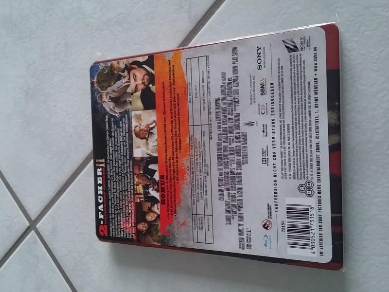 Django Unchaimed -  Blu Ray  Steelbook - Top!