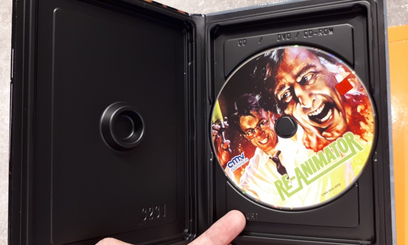 Re-Animator - kleine Hartbox von CMV - Cover B