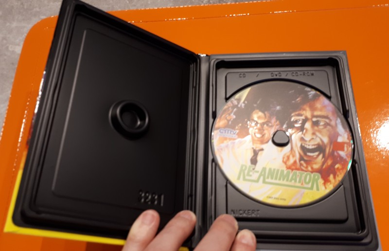Re-Animator - kleine Hartbox von CMV - Cover A