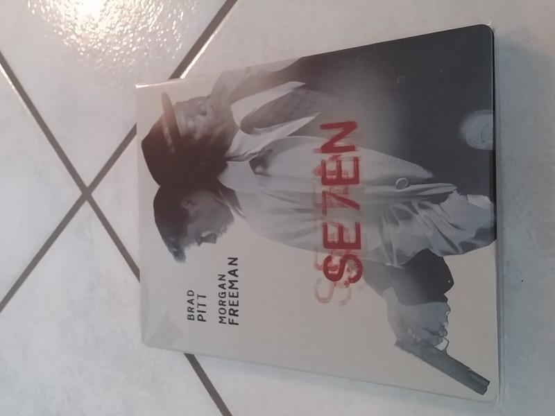 Sieben  - Zavvi -  Blu Ray  Steelbook - Top!
