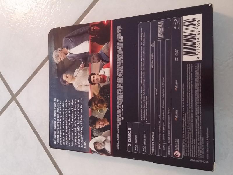 Star Wars - Das Erwachen Der Macht  -Blu Ray Steelbook Top!