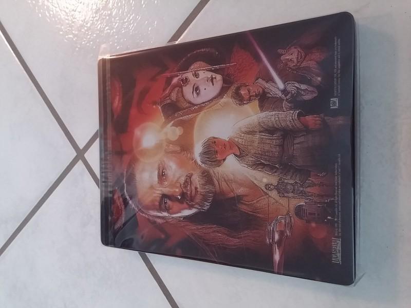 Star Wars - Die Dunkle Bedrohung   -Blu Ray Steelbook Top!