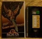 Kampf der Titanen VHS Erstausgabe