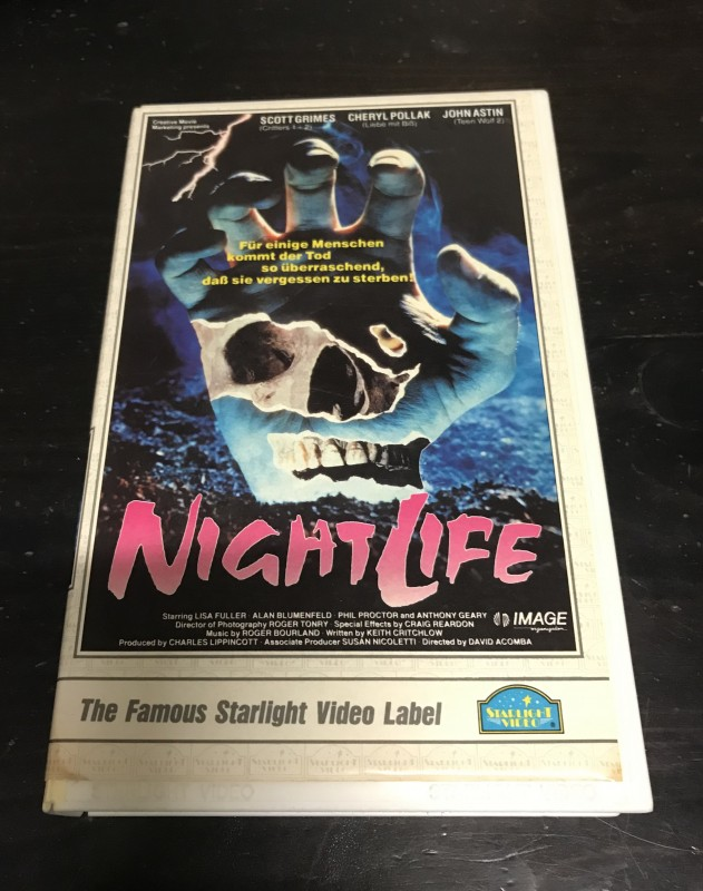 NightLife VHS