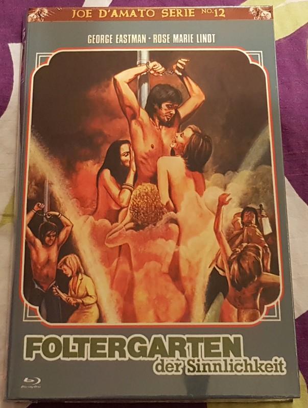 Foltergarten der Sinnlichkeit, gr. Blu-ray Hartbox, X-Rated