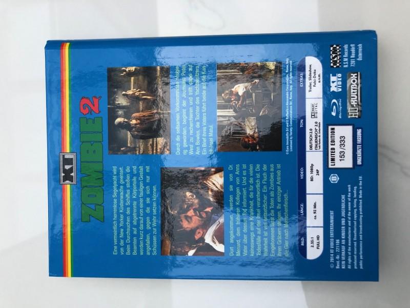 Woodoo- Die Schreckensinsel der Zombies  HD Kultbox