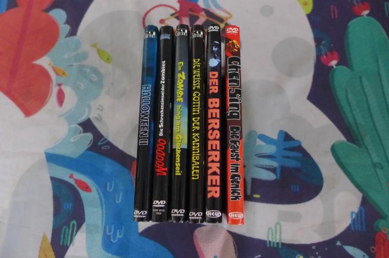 Horror 6x Mediabook - Zombie Glockenseil Woodoo weisse Götti