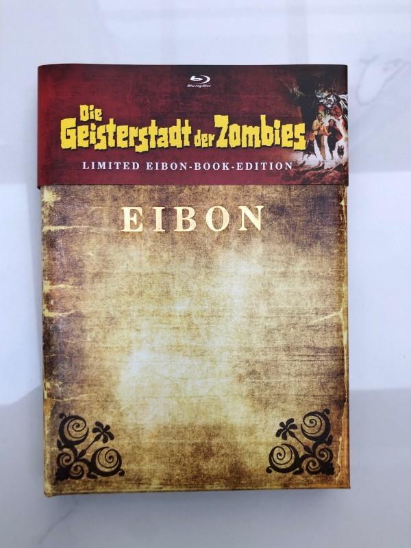 Die Geisterstadt der Zombies- Eibon Book Mediabook