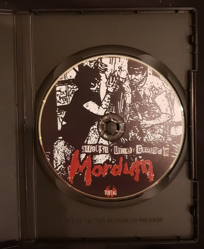 Mordum August Underground, ToeTag, Fred Vogel, DVD