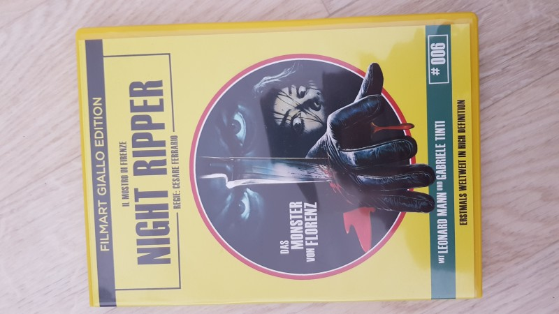 NIGHT RIPPER - GIALLO Edition Nr. 6