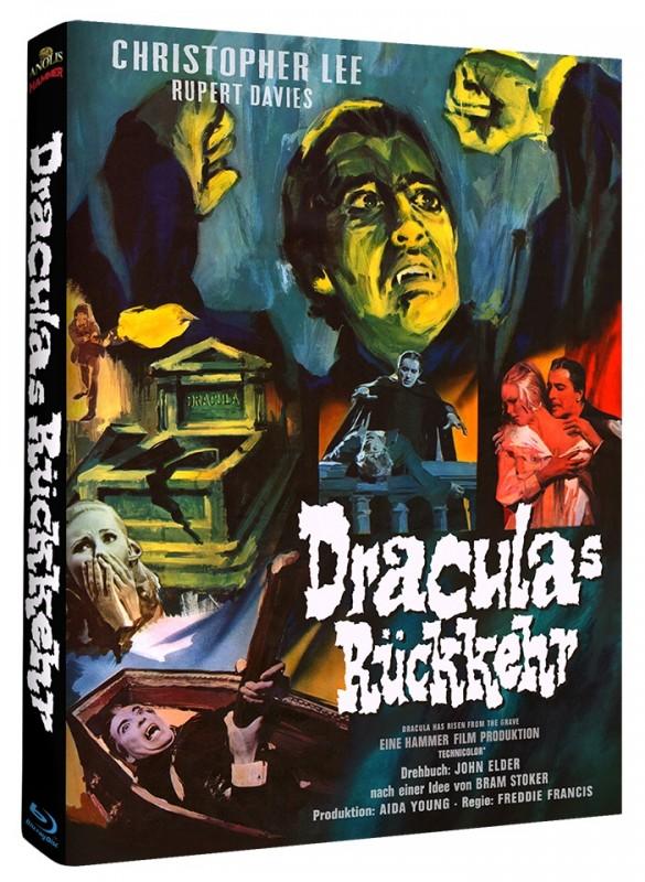 Draculas Rückkehr - Mediabook A (Blu Ray) Anolis NEU