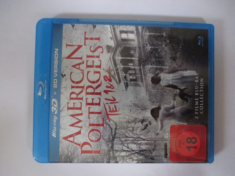 American Poltergeist - Teil 1 & 2 - 3D - siehe Foto  - Blu