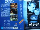 Woman Wanted ... Kiefer Sutherland, Holly Hunter ...  VHS