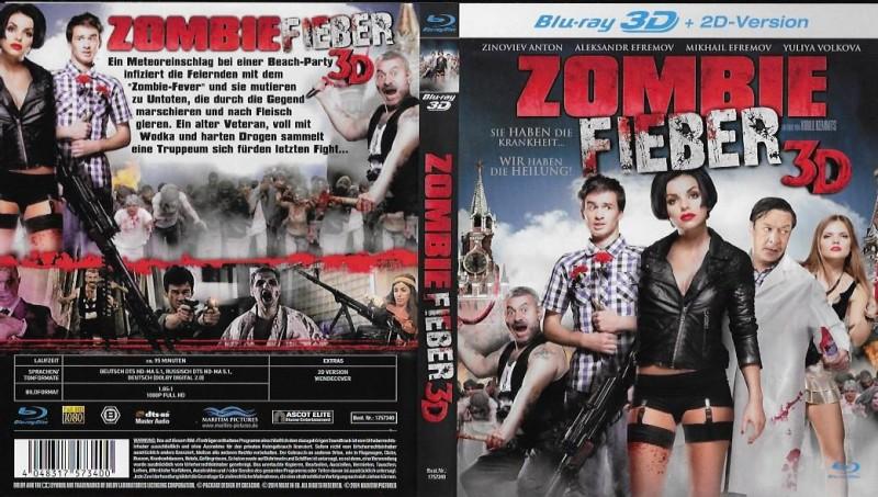 Zombie Fieber - 3D + 2D NEU / OVP