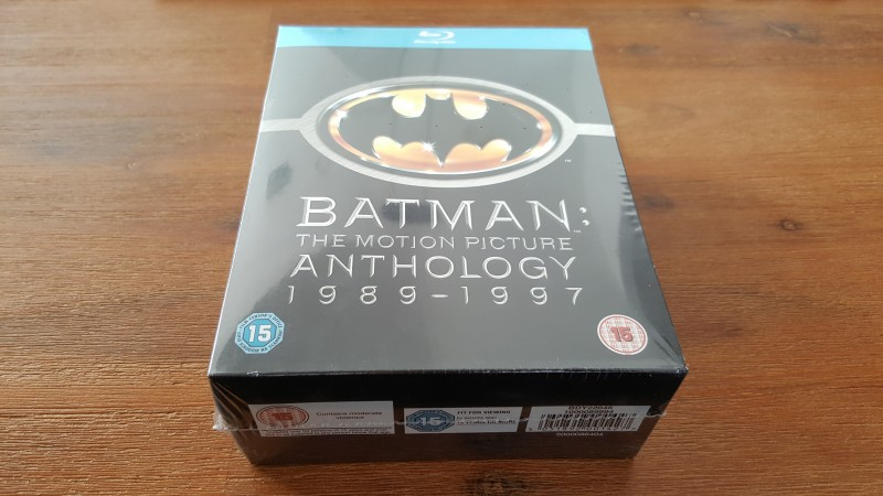 BATMAN THE MOTION PICTURE ANTHOLOGY 1989-1997 BLU RAY BOX