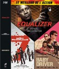 Equalizer / The Magnificent Seven / Baby Driver (englisch)
