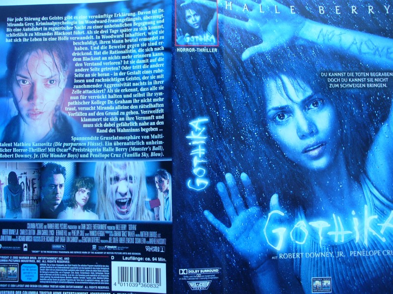 Gothika ... Halle Berry, Robert Downey jr.   ...   VHS