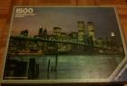 Puzzle mit der Skyline von New York inklusive der Twin Tower