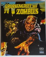 Grossangriff der Zombies Mediabook  Cover A  Uncut  Blu Ray
