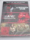 Splatter Collection - 3 Filme - DVD/NEU/Horror/FSK 18