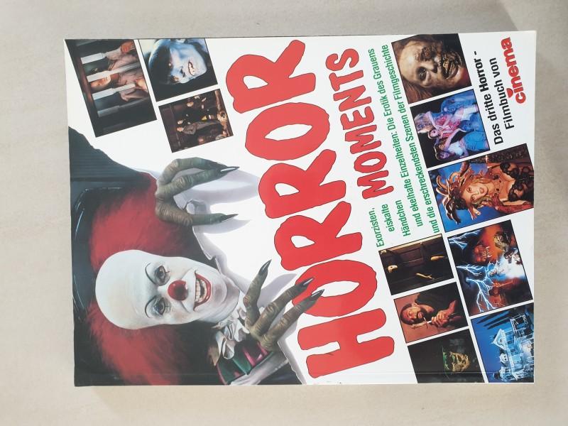 HORROR Moments cinema Filmbuch