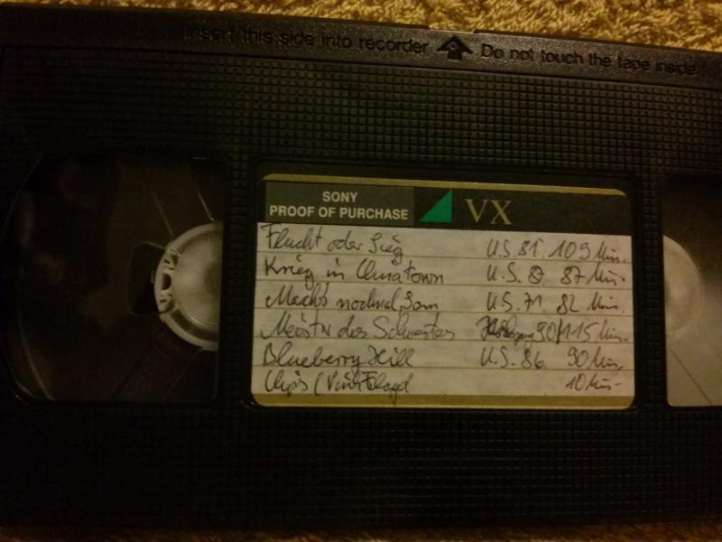 Leerkassette VHS ideal for long play Nr.162