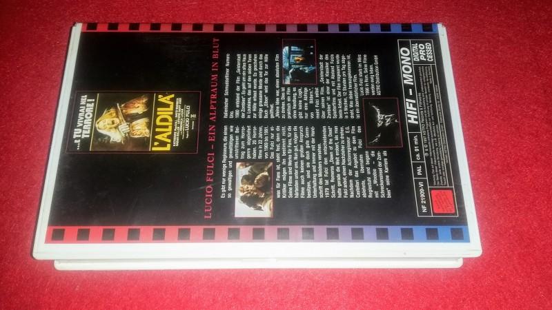 L'Aldila / Geisterstadt der Zombies - VHS-Box - Lesen
