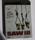 Saw III uncut 3 Steelbook DVD