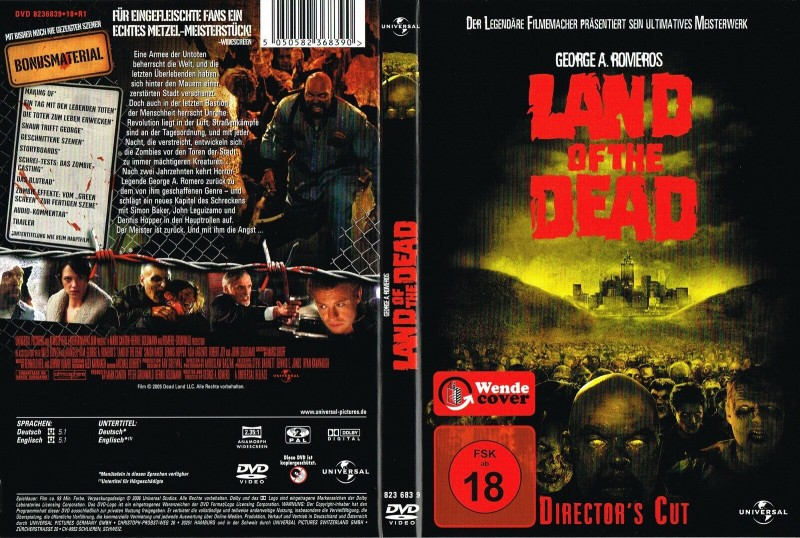 (DVD) Land of the Dead (Director's Cut)George A. Romero