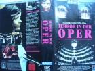 Terror in der Oper ... Christina Marsillach  VHS ... FSK 18