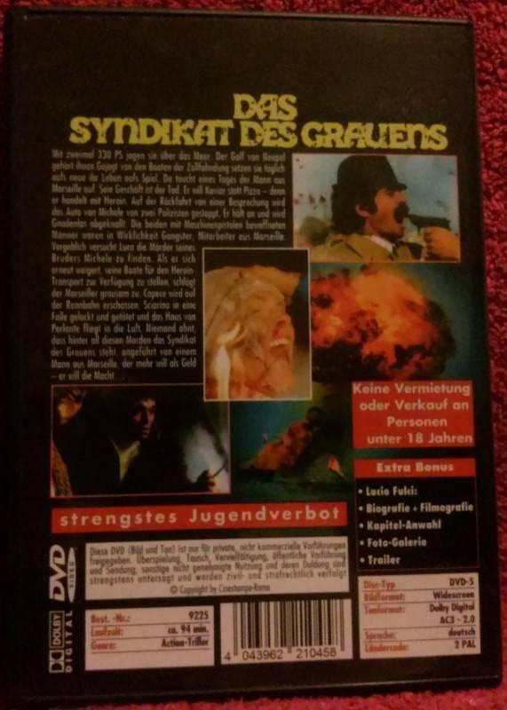 Das Syndikat des Grauens DVD Lucio Fulci Uncut