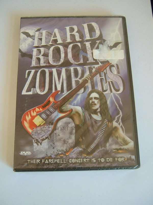 Hard Rock Zombies (englisch, OVP, selten)