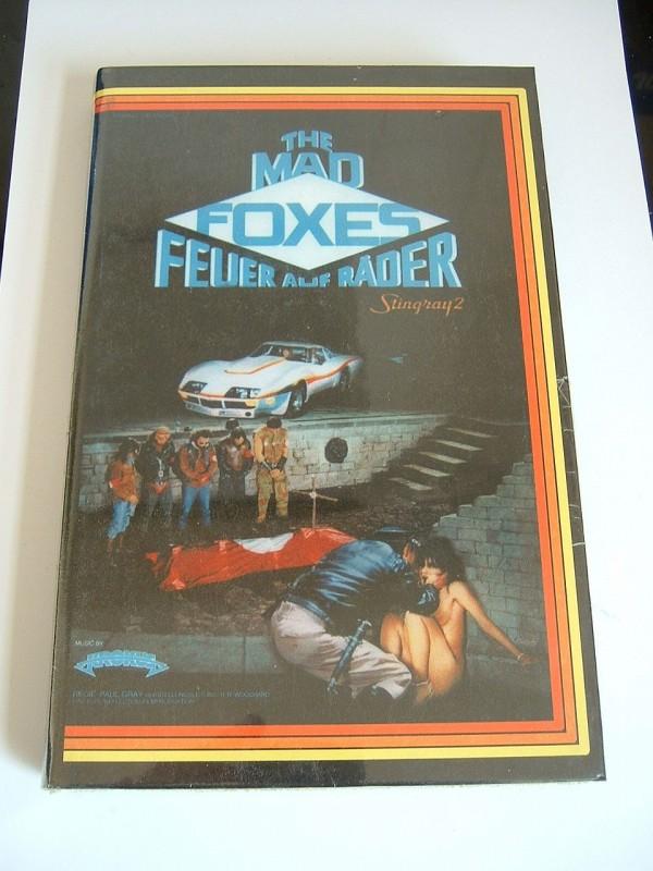 The Mad Foxes - Feuer auf Räder (große Buchbox, OVP)